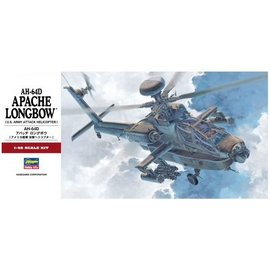 Hasegawa Hasegawa - Boeing AH-64D Apache Longbow - U.S. Army Attack Helicopter - 1:48