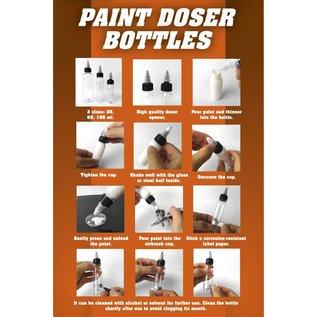 AK Interactive Paint Doser Bottles - 60ml