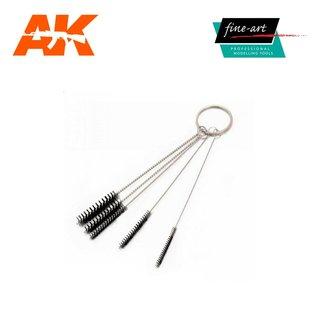 AK Interactive Fine Art Airbrush Cleaning Brush Set