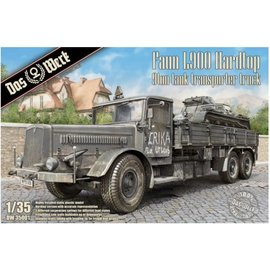Das Werk Das Werk - Faun L900 Hardtop 9ton Tank Transporter Truck - 1:35