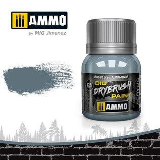 AMMO by MIG Drybrush Basalt Grey
