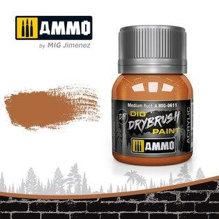 AMMO by MIG Drybrush Medium Rust