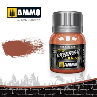 AMMO by MIG Drybrush Rust