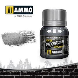 AMMO by MIG AMMO - Drybrush Gun Metal