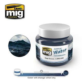 AMMO by MIG Deep Oceans - Acrylic Gel