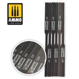 AMMO by MIG AMMO - Tapered Sanding Stick Set - schmal zulaufende Sandpapierfeilen