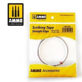 AMMO by MIG AMMO - Scribing Tape - selbstklebendes Kunststoffband zum Anschlagen von Gravurwerkzeugen