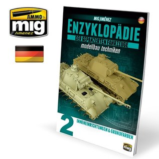 AMMO by MIG Enzyklopädie der gepanzerten Fahrzeuge Vol. 2 - Innenräume & Bemalung