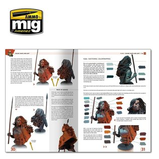 AMMO by MIG Encyclopedia of Figures Modeling Techniques - Vol. 1 Colour, Shape & Light