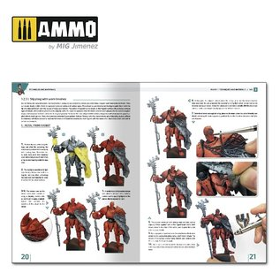 AMMO by MIG Encyclopedia of Figures Modeling Techniques - Vol. 2 Techniques & Materials