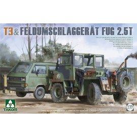 TAKOM TAKOM - VW T3 & Feldumschlaggerät FUG 2,5t - 1:32