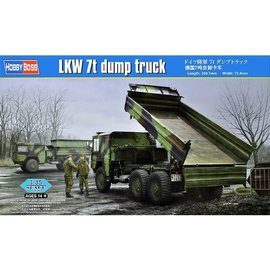 HobbyBoss HobbyBoss - MAN LKW 7t mil gl mit Kipper / Dump Truck  - 1:35
