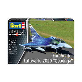 "Revell Revell - Eurofighter Typhoon ""Luftwaffe 2020 Quadriga"" - 1:72"