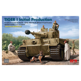 Ryefield Model RFM - PzKpfw. VI Tiger Ausf. E (Initial Production) - w/full Interior - 1:35
