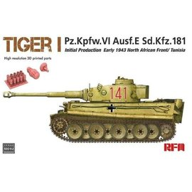 Ryefield Model RFM - PzKpfw. VI Tiger Ausf. E (Initial Production) - 1:35