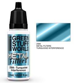 Green Stuff World Green Stuff World - Metallfilter - Türkisfarbige Interferenz