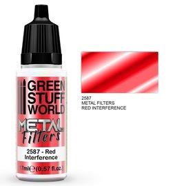 Green Stuff World Green Stuff World - Metallfilter - Rote Interferenz