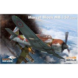 Dora Wings Dora Wings - Bloch MB.152 (late) - 1:48