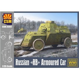 """Copper State Models Copper State Models - Russian """"RB"""" Armoured Car (""""Russo-Balt"""" 1914) - 1:35"""