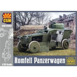 Copper State Models Copper State Models - Romfell Panzerwagen Austro-Hungarian WWI Armour - 1:35