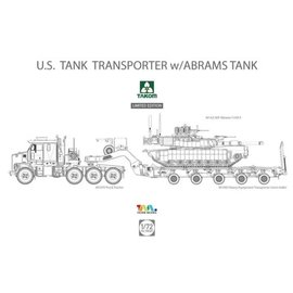 TAKOM TAKOM - M1070 & M1000 w/ M1A2 SEP Abrams Tusk II Limited Edition - 1:72