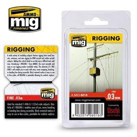 AMMO by MIG AMMO - Rigging / Takelage– Fine 0.03 mm