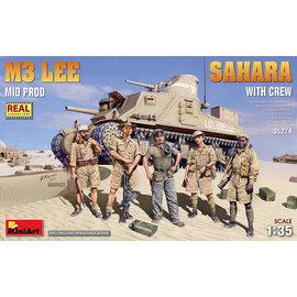 MiniArt MiniArt - M3 Lee Mid Prod. Sahara w/crew - 1:35
