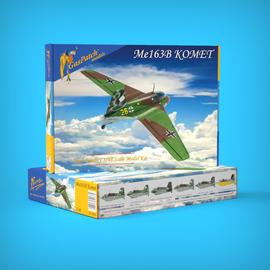 GasPatch Models GasPatch Models - Messerschmitt Me 163B Komet - 1:48