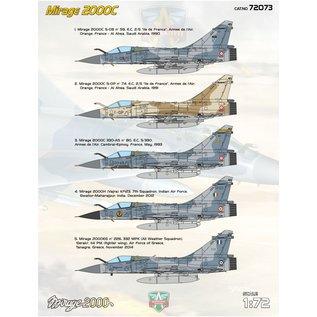 Modelsvit Dassault Mirage 2000C - 1:72