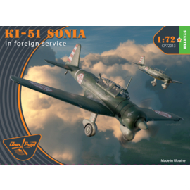 Clear Prop! Clear Prop - Mitsubishi Ki-51 Sonia in Foreign Service - Starter Kit - 1:72