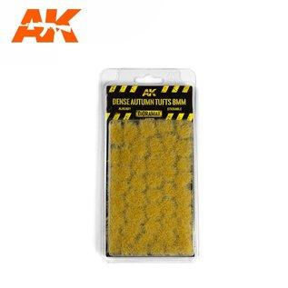 AK Interactive Dense Autumn Tufts 8mm