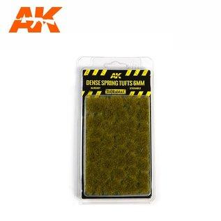 AK Interactive Dense Spring Tufts 6mm