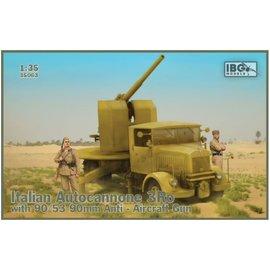 IBG Models IBG - Italian Autocannone 3Ro with 90/53 90mm Anti Aircraft Gun - 1:35