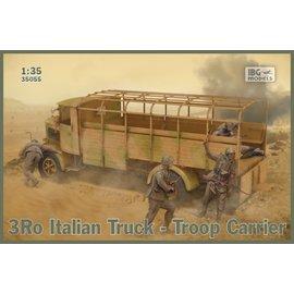 IBG Models IBG - 3Ro Italian Truck Troop Carrier - 1:35
