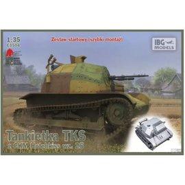 IBG Models IBG - TKS tankette, Hotchkiss wz.25 HMG. Polish Light Reconnaissance Tank - 1:35