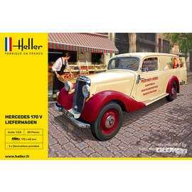 Heller Heller - Mercedes 170V Lieferwagen - 1:24