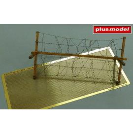 Plusmodel Plusmodel - Barbed wire / Stacheldraht, modern Typ I - 1:35