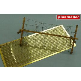 Plusmodel Plusmodel - Barbed wire / Stacheldraht, modern Typ II - 1:35