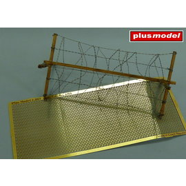 Plusmodel Plusmodel - Barbed wire / Stacheldraht, WWII - 1:35