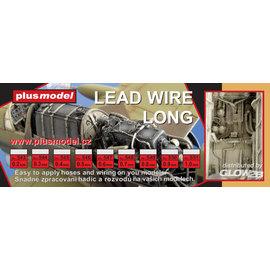 Plusmodel Plusmodel - Lead Wire long / Bleidraht 0,2mm - 240mm