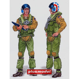 Plusmodel Plusmodel - Crew F-14 Tomcat - 1:48