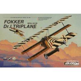 MENG MENG - Fokker Dr. I Triplane - 1:24