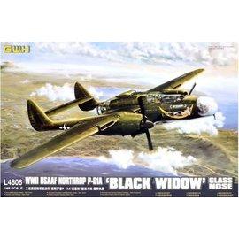 "Great Wall Hobby  G.W.H. - Northrop P-61A ""Black Widow"" Glass Nose - 1:48"