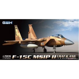 Great Wall Hobby  G.W.H. - McDonnell Douglas F-15C MSIP II - USAF & ANG - 1:72