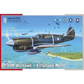 Special Hobby Special Hobby - Curtiss P-40M Warhawk - 1:72