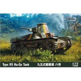 IBG Models IBG - Type 95 Ha-Go Japanese Light Tank - 1:72