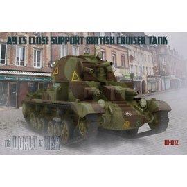 IBG Models IBG - World at War - A9 CS Close Support British Cruiser Tank Mk. VI - 1:72