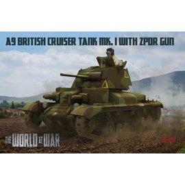 IBG Models IBG - World at War - A9 British Cruiser Tank Mk. VI - 1:72
