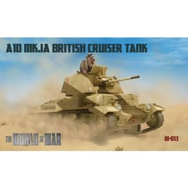 IBG Models IBG - World at War - A10 Mk.Ia British Cruiser Tank  - 1:72