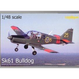 Tarangus Tarangus - Scottish Aviation Sk61 Bulldog - Swedish Airforce & Army - 1:48